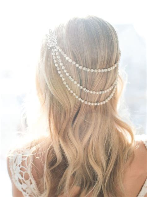 Wedding Hair Accessories With Pearls by Gorgeous Pearl Accessories For Brides Pearls Only