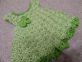 vestido color pistacho para bebe crochet paso a paso con