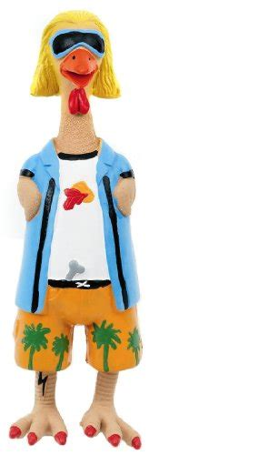 Earl The Rubber Chicken by Rubber Charming Pet Products Jeff E