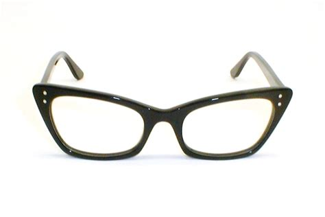 vintage cat eye glasses eyeglasses 1950s 60s