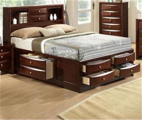 captains bed queen details about emily collection bookcase headboard queen king captains storage bed w 6