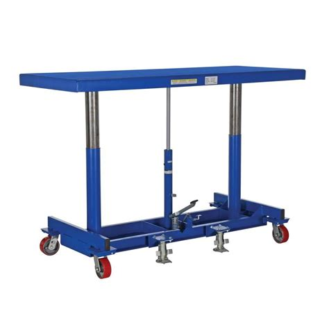 hydraulic table cart home depot shoulder dolly 800 lb moving straps ld1000 the home depot
