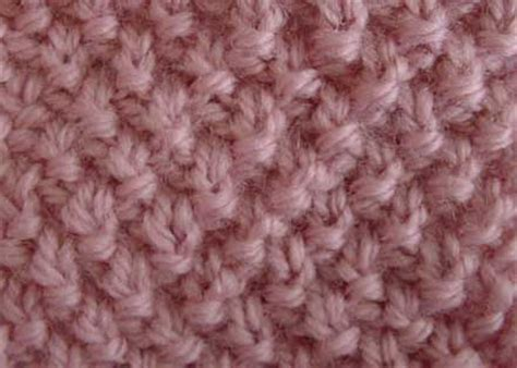 flat knitting stitches seed stitch