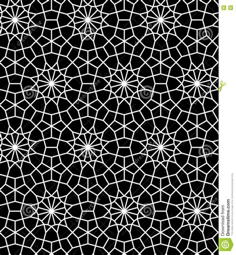pattern matching over vector seamless moroccan tile wallpaper stock photography