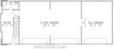 5 Car Garage Plans Karlsbad 5 Car Garage Plans