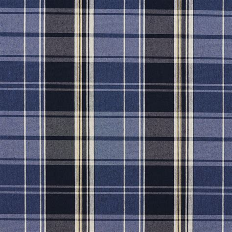 blue plaid upholstery fabric dark blue and light blue plaid country damask upholstery