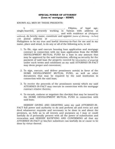 Resignation Letter Power Of Attorney Limited Power Of Attorney Form 37 Free Templates In Pdf Word Sle Poa Letter Picture