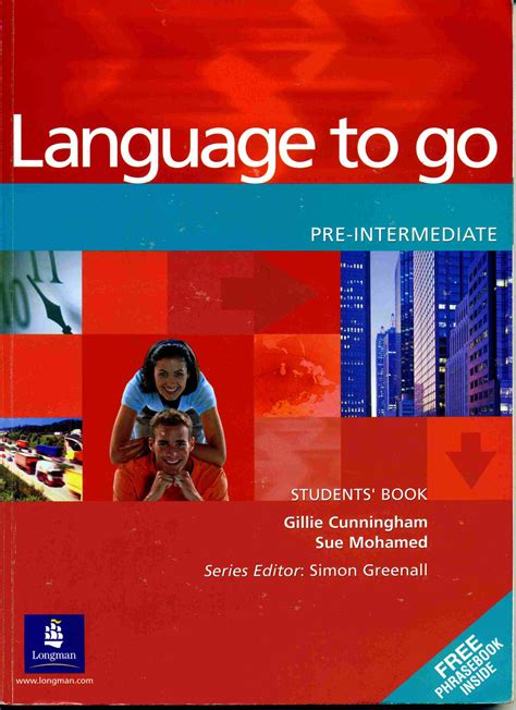 Longman Language To Go Pre Intermediate Students Book language to go pre intermidiate