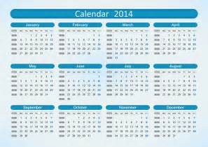 2014 12 Month Calendar Template by Image Gallery 2014 Calendar 12 Month