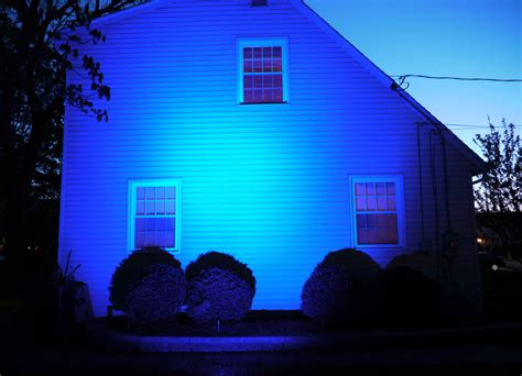 blue led flood light 10 tips for diy outdoor lighting pegasus lighting