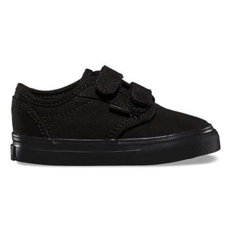 black shoes for toddler toddlers atwood v shop toddler shoes at vans