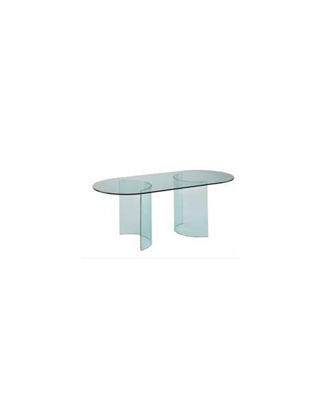 basi per tavolo basi per tavolo coppia di cristalli curvi dimensioni