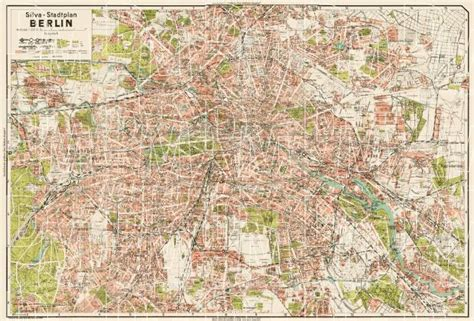 berlin s house of tools old map of berlin in 1938 buy vintage map replica poster