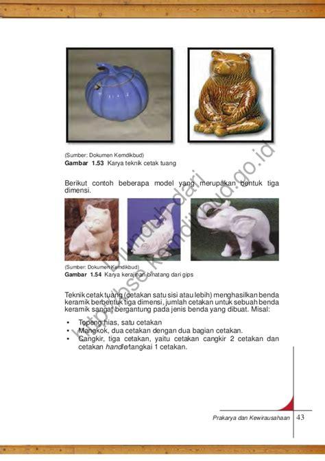 Cetakan Keramik 1 prakarya dan kewirausahaan pdf
