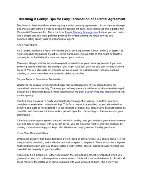 Lease Termination Letter Washington State Notice Of Termination Of Lease By Tenant Free Pennsylvania 30 Day Notice To Vacate Month To