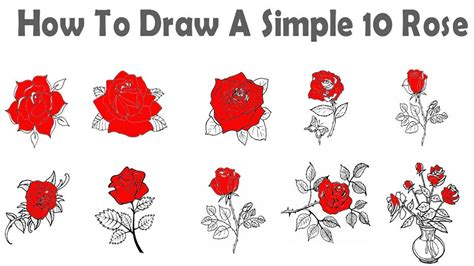 how to make easy doodle 10 easy drawing tutorial how to draw a
