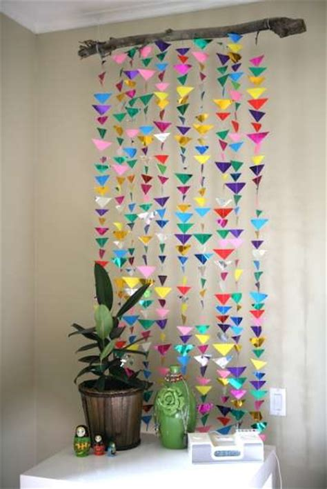 How To Make Origami Hanging Decorations - diy hanging origami decor hanging origami decor