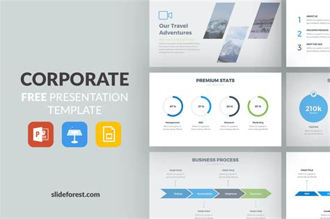 50 Best Free Cool Powerpoint Templates Of 2018 Updated Corporate Powerpoint Presentation Templates
