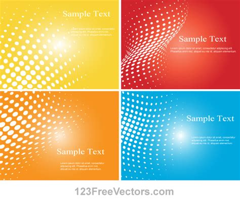 pattern ai file free download halftone dot colorful background vector illustrator