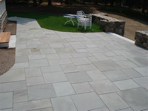 how to clean bluestone like the neatness and shapes of the stone slabs pavers