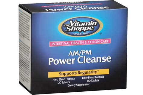 Vitaminshoppe Detox 1 by The Vitamin Shoppe Am Pm Power Cleanse Youbeauty