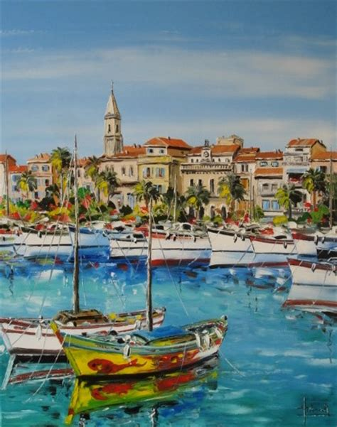 Peintre Sanary Sur Mer by Tableau Peinture De Sanary Painting Sanary