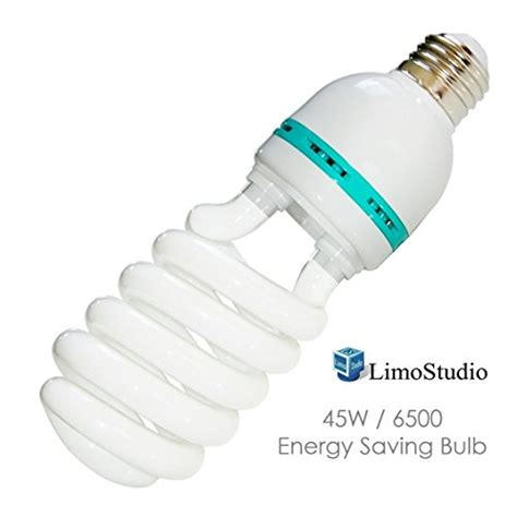 daylight bulb color limostudio 45w photography compact fluorescent cfl