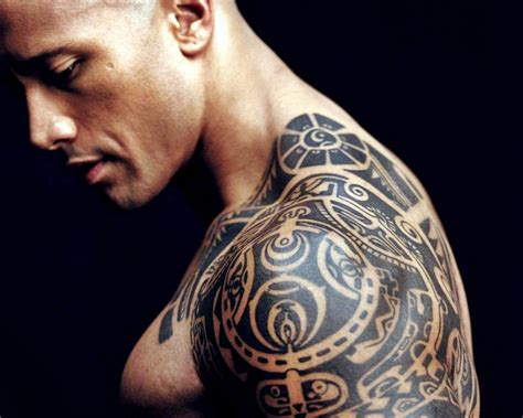 dwayne the rock johnson tattoo guys dwayne johnson the rock be creative live