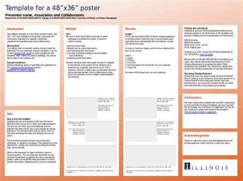 powerpoint poster template a1 igotz org
