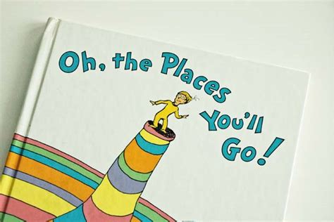 libro oh the places youll need motivation for life read dr seuss thoughtware com