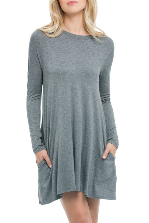 Dress Pocket Longsleeve by Elan Sleeve Pocket Dress From Ohio Shoptiques