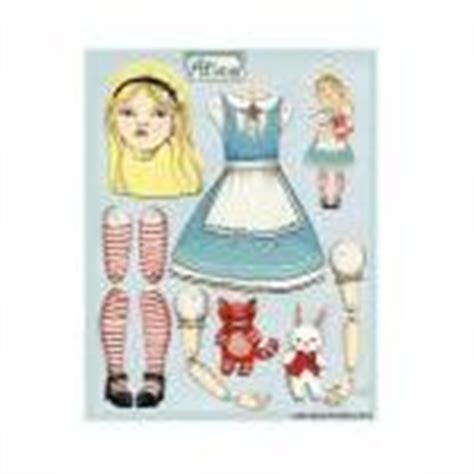 Alice In Wonderland Articulated Pap | alice in wonderland articulated paper doll for