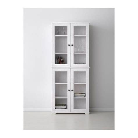 White Curio Cabinet Glass Doors Ikea Borgsjo Glass Door Display Curio Cabinet White Doors Glasses And Glass Doors