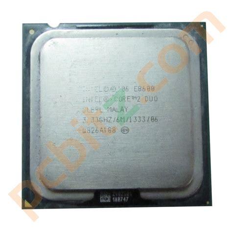 Processor Intel 2 Duo 333 Ghz E8600 Proc Core2 Duo E8600 intel 2 duo e8600 slb9l 3 33ghz socket lga775 cpu