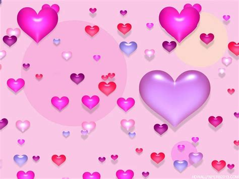 pink valentines day pink wallpaper valentines day hd high definition