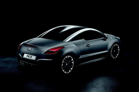 peugeot rcz black 99 wallpapers peugeot limited edition rcz asphalt for uk