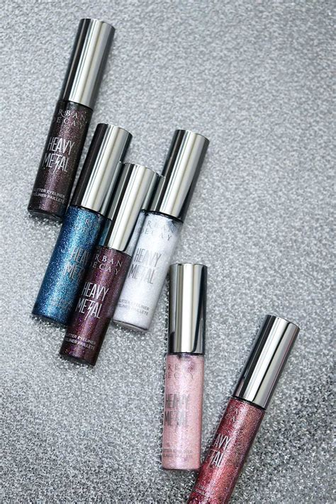 Best Decay Heavy Metal Glitter Liner by Introducing 6 New Shades Of Decay Heavy Metal