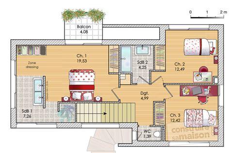 Plan De Maison Design maison design d 233 du plan de maison design faire