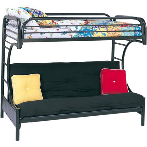 Eclipse Twin Over Full Futon Bunk Bed Multiple Colors Futon Bunk Bed Walmart