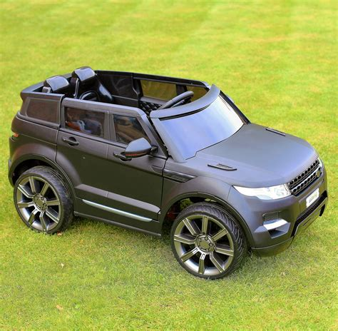 jeep range rover black maxi range rover hse sport style 12v electric battery ride