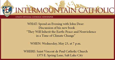 John Dear To Discuss His Latest Book Intermountain Catholic