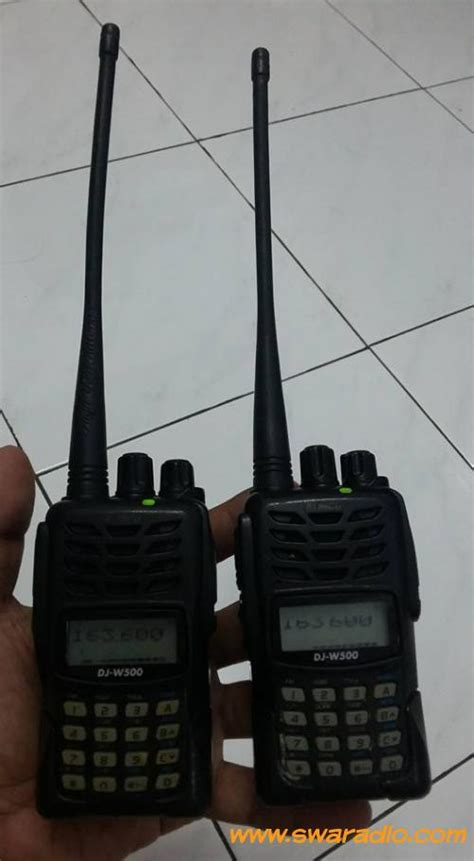 Jual Ht Alinco Dj W500 Dual Band Baru Radio Komunikasi Elektronik alinco dj w500 dualband swaradio