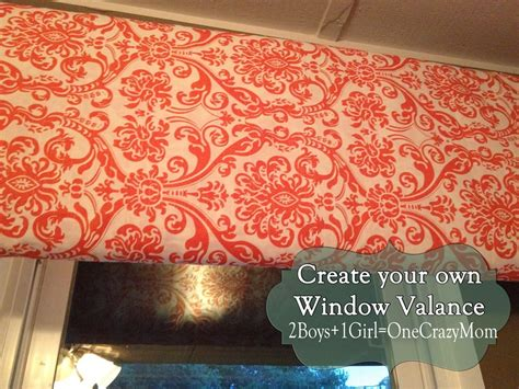 Make Your Own Window Valance make your own diy window valance in no time an no sew 2 boys 1 one