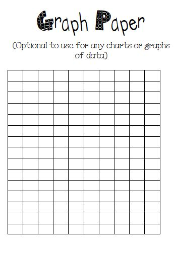 printable graphs for science projects what the teacher wants science fair journals and