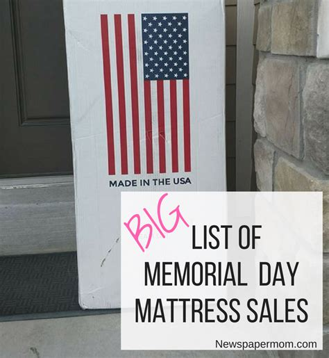 Mattress Sale Memorial Day by Big List Of Memorial Day Mattress Sales 2017