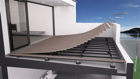 top deck systems floating deck membrane roof top deck deck on top of