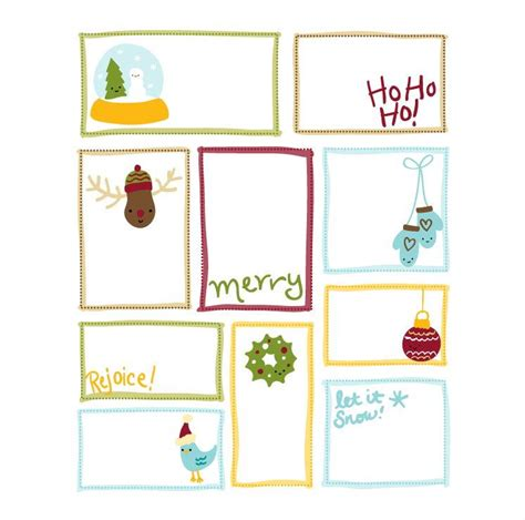 big printable christmas gift tags cutesy christmas printable gift tags
