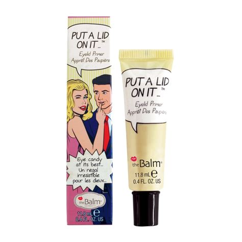 Thebalm Put A Lid On It thebalm put a lid on it eyelid primer 11 8ml feelunique