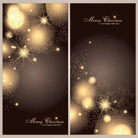 vector illustration  abstract dark elegant background glowing star flake pattern merry
