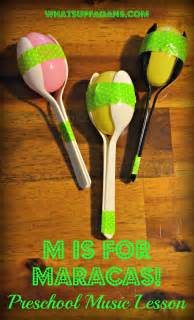 Musical Instruments Crafts For Kids - letter m activities for preschool m is for music lesson